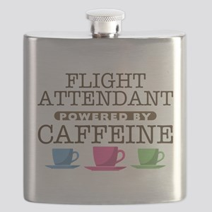 Flight Attendant Powered by Caffeine Flask