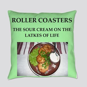 roller,coasters Everyday Pillow