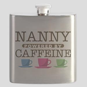 Nanny Powered by Caffeine Flask