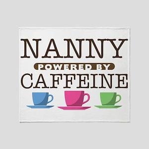 Nanny Powered by Caffeine Stadium Blanket