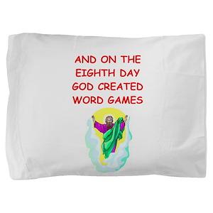 WORD Pillow Sham