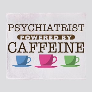 Psychiatrist Powered by Caffeine Stadium Blanket