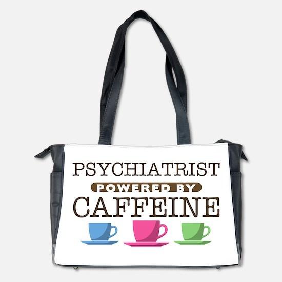 Psychiatrist Powered by Caffeine Diaper Bag
