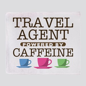 Travel Agent Powered by Caffeine Stadium Blanket