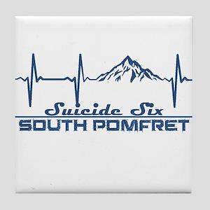 Suicide Six - South Pomfret - Vermo Tile Coaster