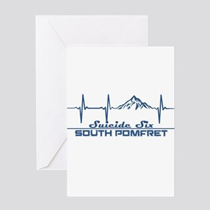 Suicide Six - South Pomfret - Ver Greeting Cards