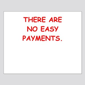 easy payments Small Poster