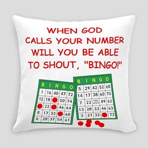 bingo god Everyday Pillow