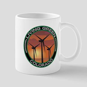 Living Green Colorado Wind Power Mug
