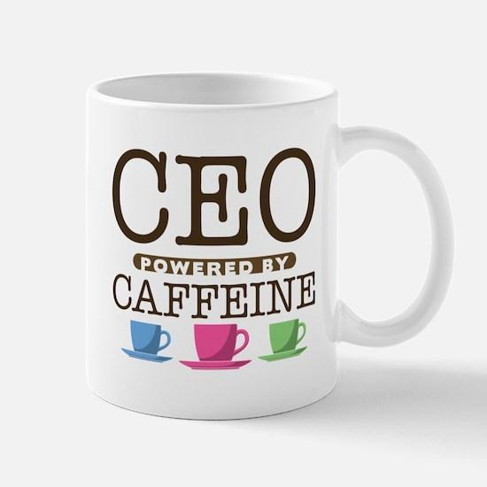 CEO Powered by Caffeine Mug