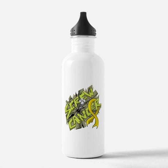 -Screw Neuroblastoma 4 Water Bottle