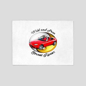 Mazda MX-5 Miata 5`x7`Area Rug