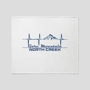 Gore Mountain - North Creek - New Throw Blanket