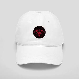 New Hermetics Red on Black Cap
