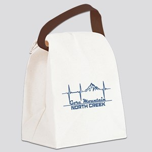 Gore Mountain - North Creek - N Canvas Lunch Bag
