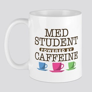 Med Student Powered by Caffeine Mug
