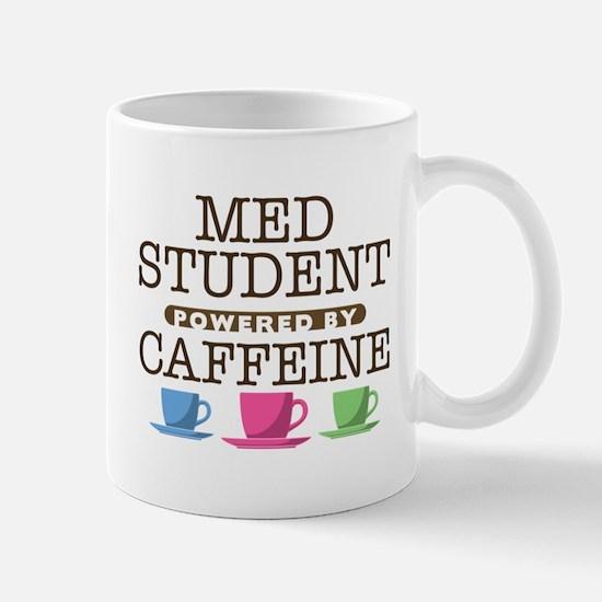 Med Student Powered by Caffeine Mug
