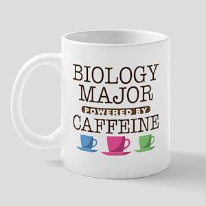 Biology Major Powered by Caffeine Mug