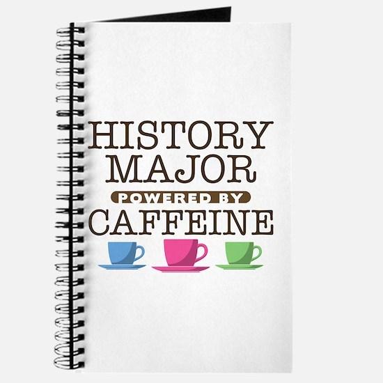 History Major Powered by Caffeine Journal