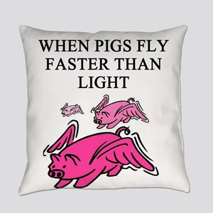 when pigs fly physics gifts t-shirts Everyday Pill