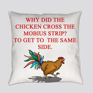 mobius strip joke Everyday Pillow