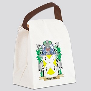Bacchus Coat of Arms - Family Cre Canvas Lunch Bag
