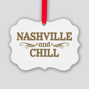 Nashville And Chill Picture Ornament