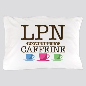 LPN Powered by Caffeine Pillow Case