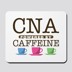 CNA Powered by Caffeine Mousepad