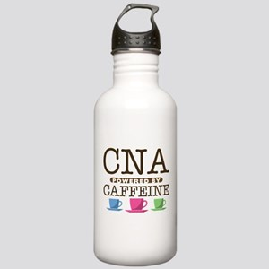 CNA Powered by Caffeine Stainless Water Bottle 1.0