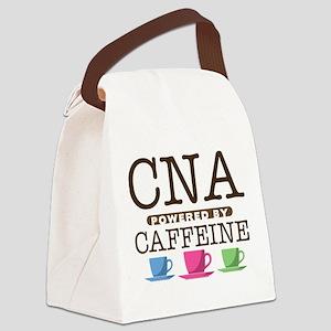 CNA Powered by Caffeine Canvas Lunch Bag