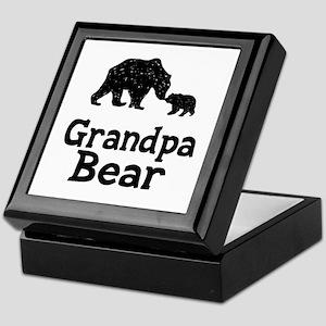 Grandpa Bear Keepsake Box