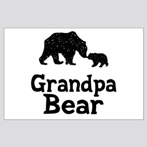 Grandpa Bear Large Poster