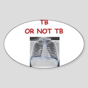 radiology Sticker (Oval)