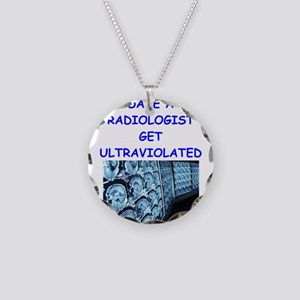 radiologist Necklace Circle Charm