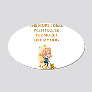 people 20x12 Oval Wall Decal