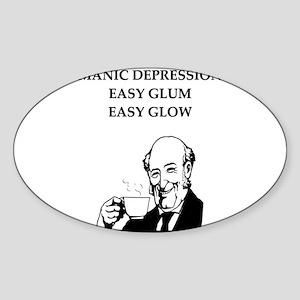 psychology Sticker (Oval)