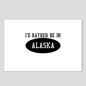 I'd Rather Be in Alaska Postcards (Package of 8)