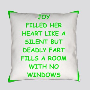 bad writing Everyday Pillow