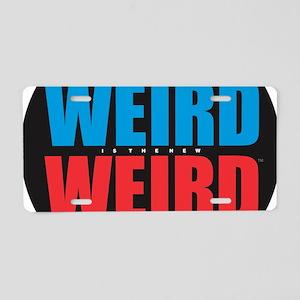 Weird is the New Weird Aluminum License Plate