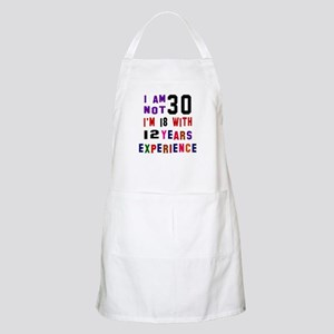 30 Birthday Designs Apron