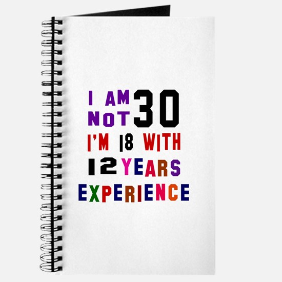 30 Birthday Designs Journal