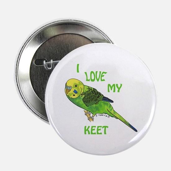 Green Keet Button