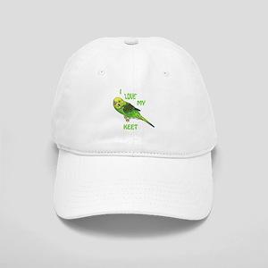 Green Keet Cap