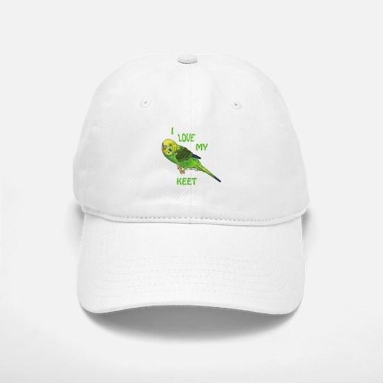 Green Keet Baseball Baseball Cap