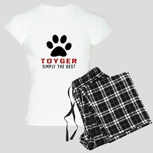 Toyger Simply The Best Cat Women's Light Pajamas