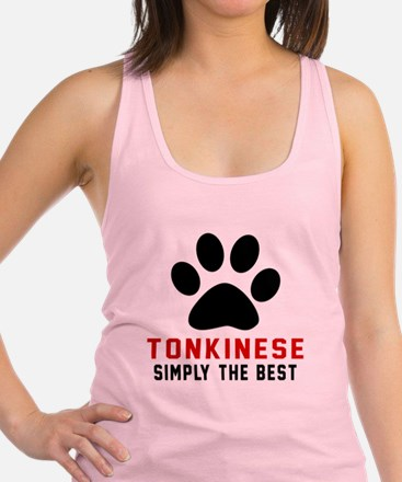 Tonkinese Simply The Best Cat D Racerback Tank Top