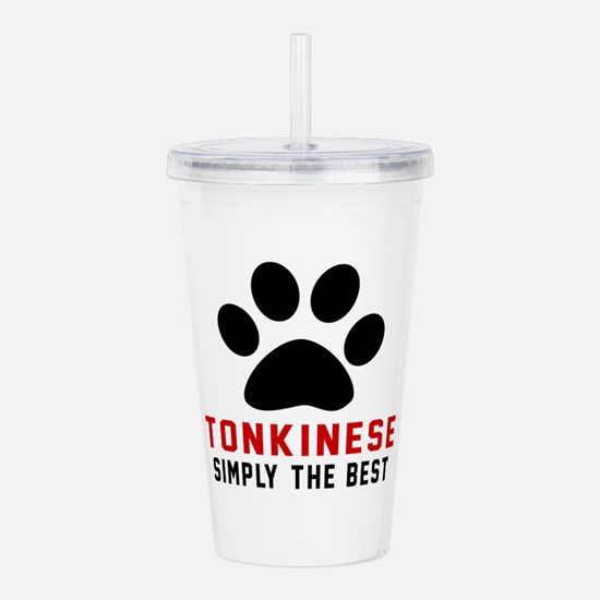 Tonkinese Simply The B Acrylic Double-wall Tumbler