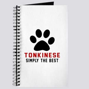 Tonkinese Simply The Best Cat Designs Journal