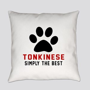 Tonkinese Simply The Best Cat Desi Everyday Pillow